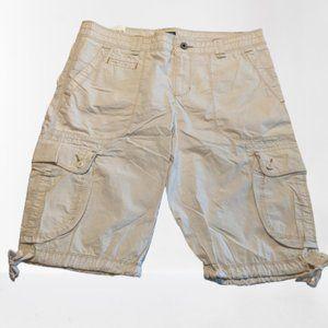 POLO JEANS COMPANY Khaki Bermuda Cargo Shorts 10